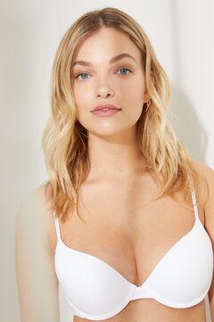 Womensecret Organic cotton push-up bra white