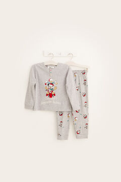 Womensecret Kids' grey Mickey pyjamas grey