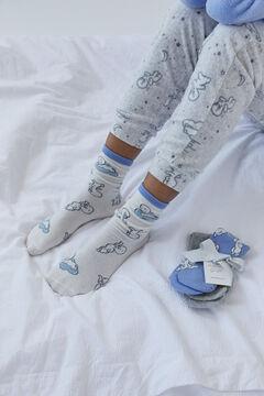Womensecret 3-pack Casper socks printed