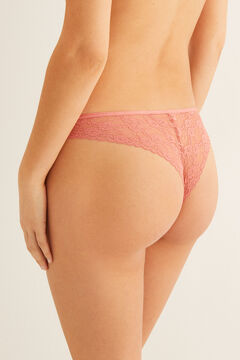 Womensecret Lace Brazilian panty red