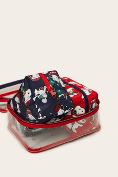 Womensecret 3-pack Snoopy vanity cases printed