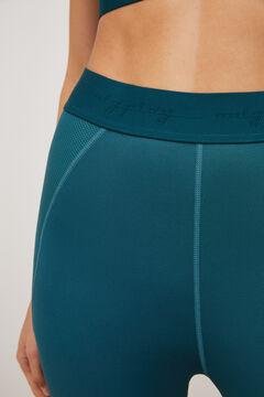 Womensecret Legging largo tobillero azul