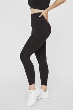 Womensecret Recycled nylon maternity leggings noir