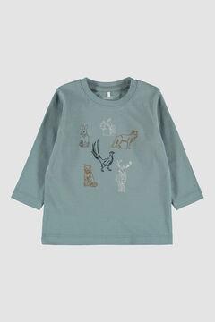 Womensecret T-shirt de bebê manga comprida cinzento