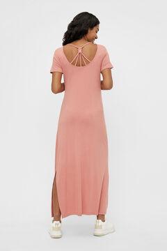 Womensecret Vestido comprido maternity rosa