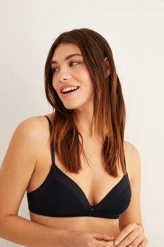 Womensecret Modal triangle bra black