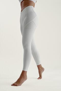 Womensecret Legging Indi Off White blanco