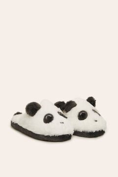 Womensecret Panda slippers white