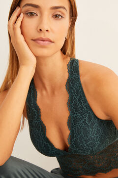 Womensecret Green lace bralette  green