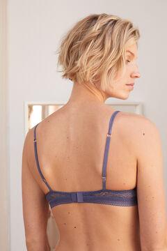 Womensecret Lace triangle bra pink