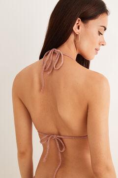 Womensecret Top bikini dégradé rose