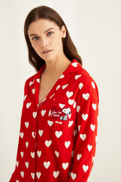 Womensecret Cotton Snoopy heart nightgown printed