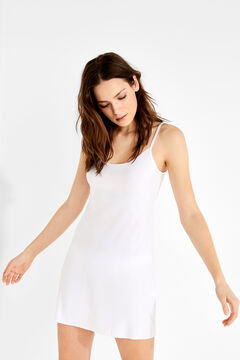 Womensecret Short slip dress branco