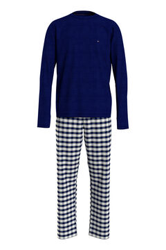 Womensecret Set de pijama de tela con estampado estampado
