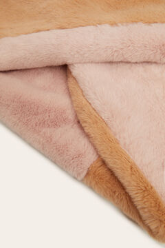 Womensecret Two-colour fur snood pink