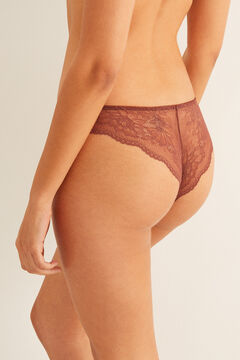 Womensecret Supersoft Brazilian panty nude