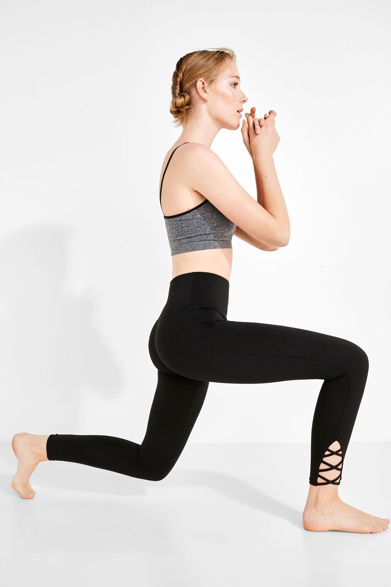 8d45b834b12374 Leggings with straps | Sport support | Women'secret