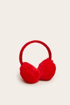 Womensecret Szőrmés fülvédők  piros