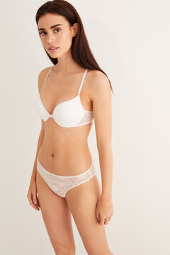 Womensecret Lace push-up bra white