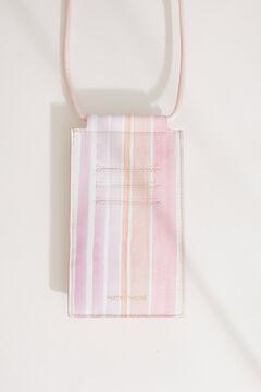 Womensecret Housse portable et cordon rose rose