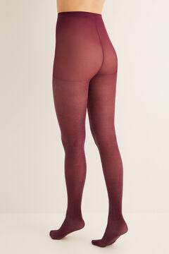 Womensecret Collant lurex rouge