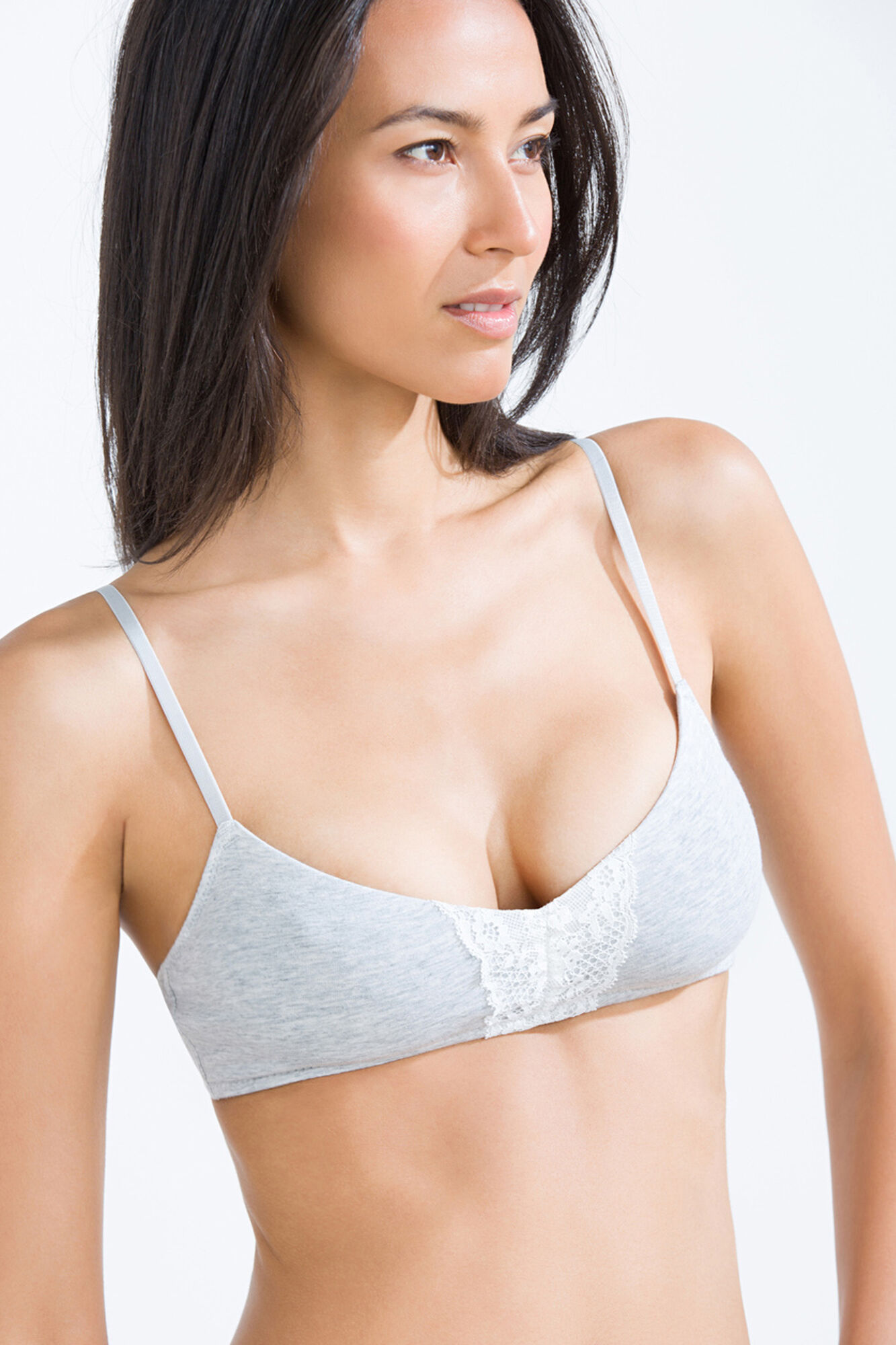 e0d8eca374aa2 Cotton unpadded wireless bra
