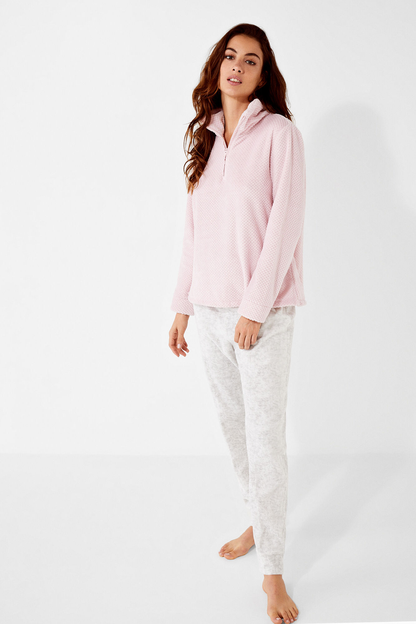 e807097a1 Long fleece pyjamas