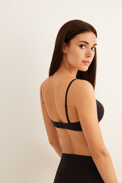 Womensecret Padded triangular bra black