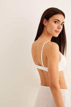 Womensecret Soutien-gorge avec armatures rembourré blanc