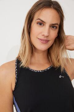Womensecret T-shirt treino sem mangas preto