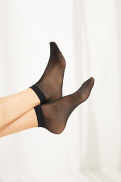 Womensecret Pack of 2 tights 20 DEN black