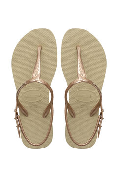 Womensecret Chanclas TWIST nude