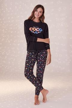 Womensecret Coco black cotton pyjamas black