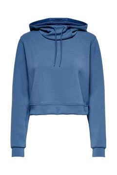 Womensecret Sweatshirt com capuz azul