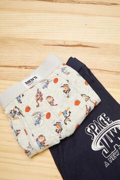 Womensecret Pack 2 calzoncillos boxer Space Jam algodón azul