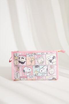 Womensecret Pink medium-sized Snoopy vanity case printed
