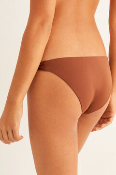 Womensecret Strappy bikini bottoms nude