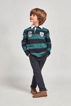 Womensecret Camiseta de polo croquet niño azul