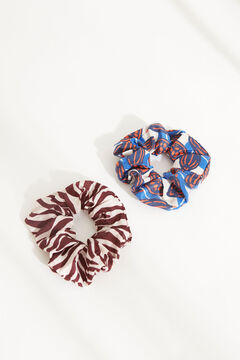 Womensecret 2-pack printed scrunchies printed