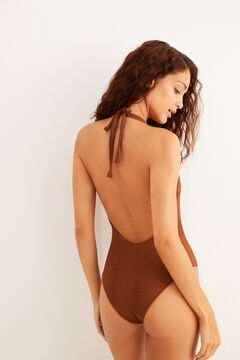 Womensecret String halterneck swimsuit nude