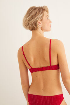 Womensecret Classic spotty bra printed