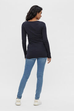 Womensecret 2-function maternity knit top bleu