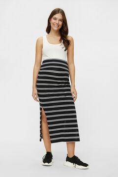 Womensecret Long maternity skirt black