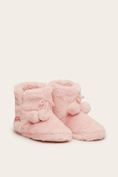 Womensecret Slipper boots  pink