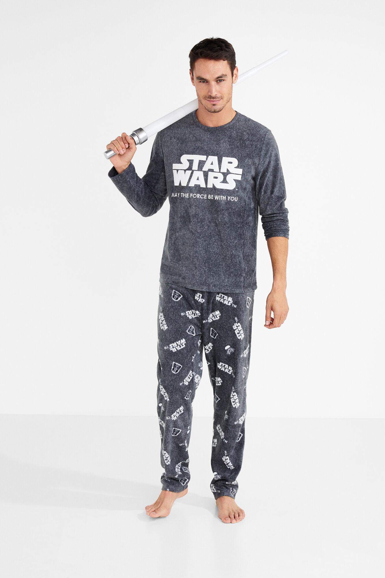 2d27ea5b4a Pijama largo Star Wars para hombre