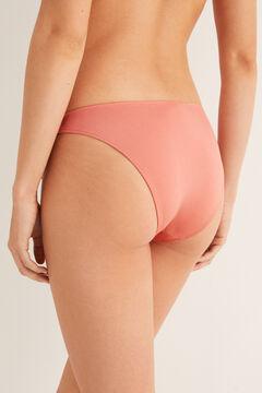 Womensecret Culotte bikini nouage rose