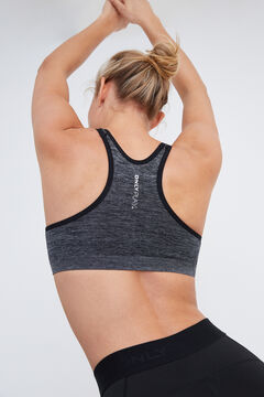 Womensecret Medium intensity sports bra black