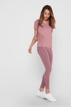 Womensecret T-shirt treino decote V rosa