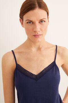 Womensecret Vest  blue
