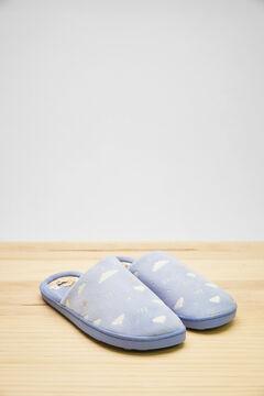 Womensecret Zapatillas destalonada azul Moderna de Pueblo azul